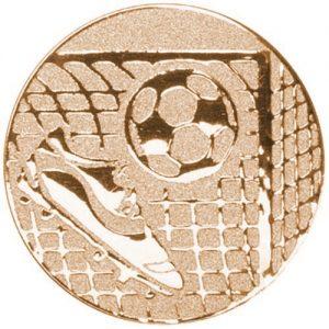 Bronze Football Medal Centre