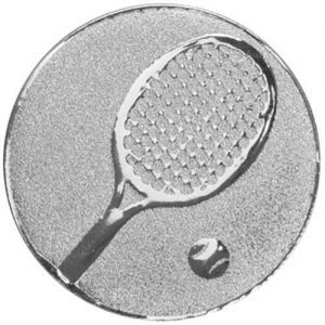 25mm Tennis Centre Silver