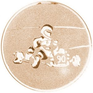 25mm Go Kart Centre (bronze)