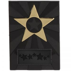 Black and Gold Apex Star