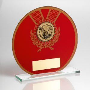 Golf Glass Award Large