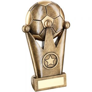 Football and Crown Resin Award