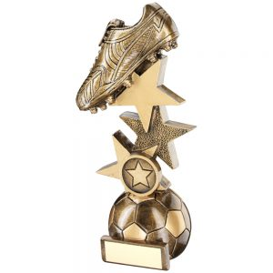 Football Boot Star Riser Resin Award
