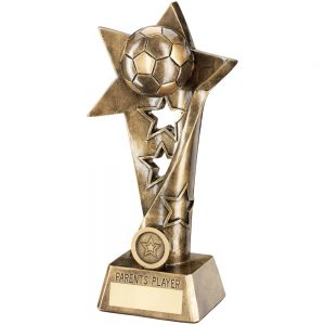 Football Parents Player Twist Star Award