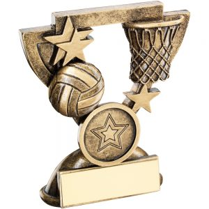 Netball Mini Cup Resin Award