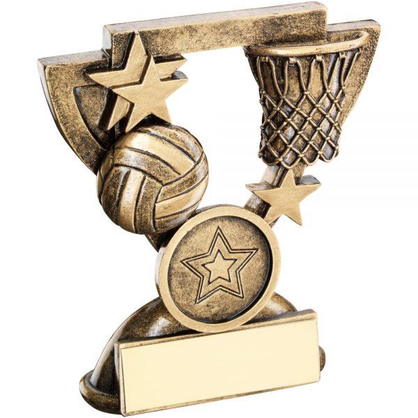Netball Mini Cup Resin Award