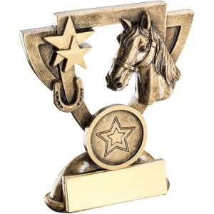 Horse Mini Cup Resin Award