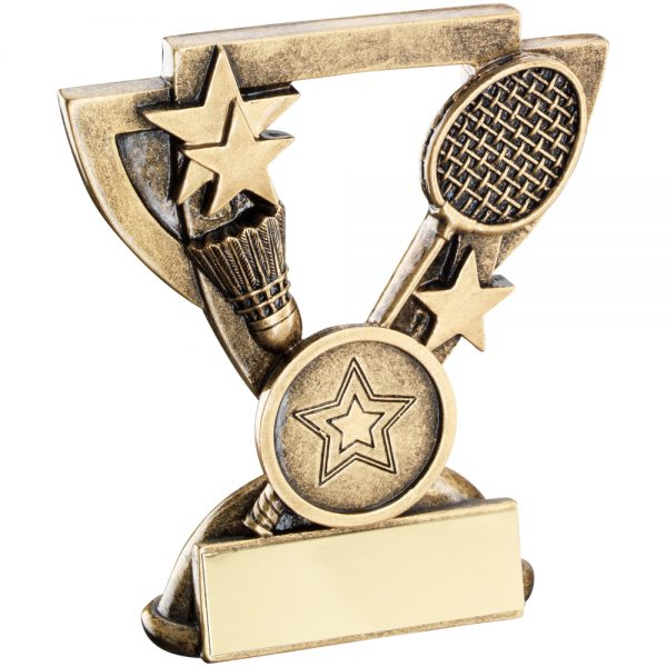 Badminton Mini Cup Resin Award