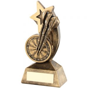 Darts Shooting Star Resin Award