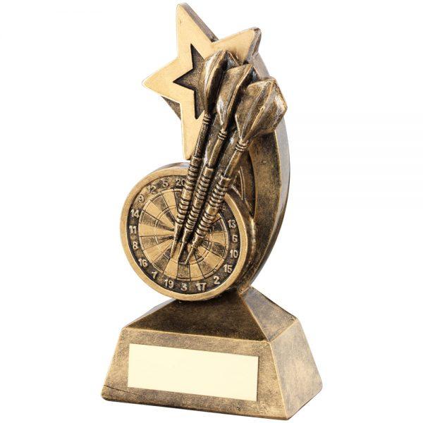 Darts Shooting Star Resin Award