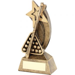 Snooker Shooting Star Resin Award