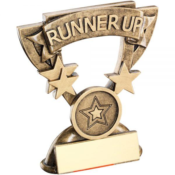 Runner Up Mini Cup Resin Award