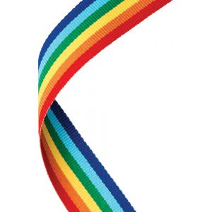 Rainbow Medal Ribbon