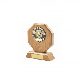 14cm Octagonal Plaque with MC2 Centre